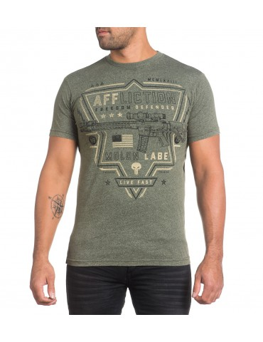 Affliction Tactical- Military Green Lava Wash