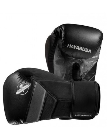 Hayabusa Tokushu T3 Boxing Gloves - Black/Grey