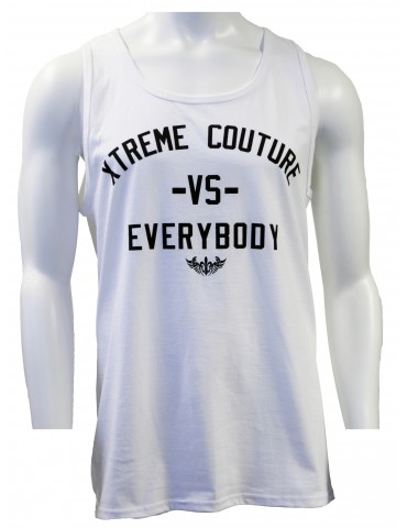 Xtreme Couture VS Everybody Tank Top - White