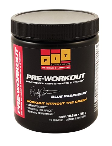 FIT- Xtreme Pre Workout- Blue Raspeberry