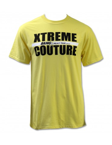 Xtreme Couture Bang Muay Thai Rank Tee - Yellow
