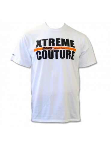 Xtreme Couture Bang Muay Thai Rank Tee - White