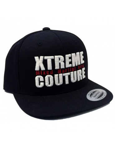 Xtreme Couture Snapback Hat - Black