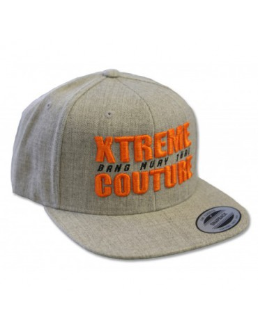 Xtreme Couture (Bang Muay Thai) Snapback Hat - Heather Grey
