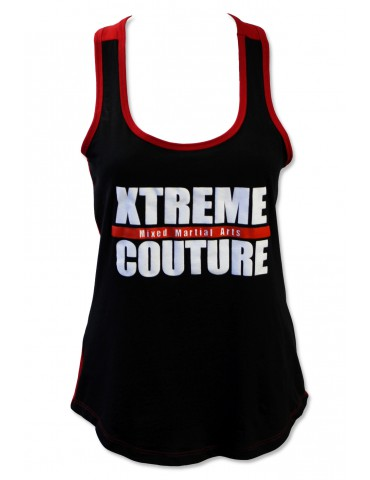 Xtreme Couture Assault Womens Tank - Red/Black