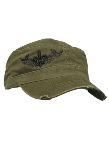 Xtreme Couture Freedom Military Hat - Mil Green