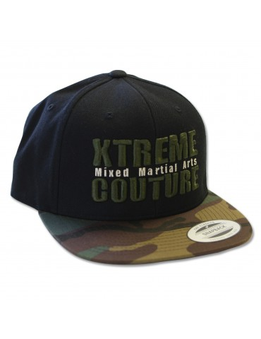 Xtreme Couture Snapback Hat - Camo