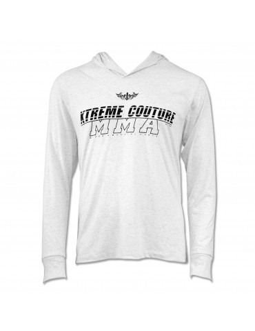 Xtreme Couture Swift Hooded LS Tee - White