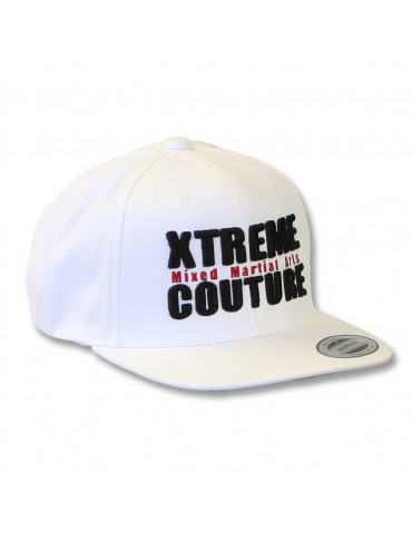 Xtreme Couture Snapback Hat - White