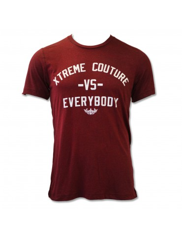 Xtreme Couture VS Everybody SS Tee - Maroon