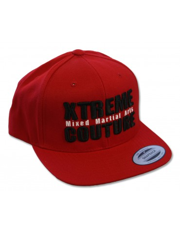 Xtreme Couture Snapback Hat - Red