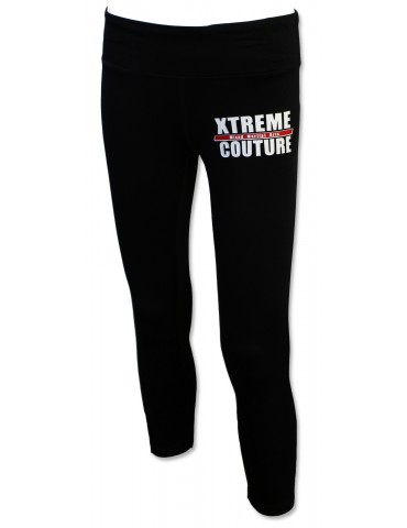 Xtreme Couture Assault Capri Leggings - Black