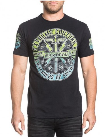 Xtreme Couture Squadron Black SS Shirt