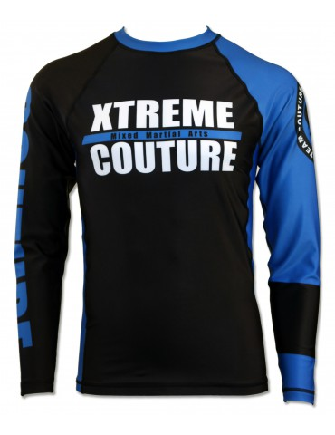 Xtreme Couture Rank LS Rashguard - Blue