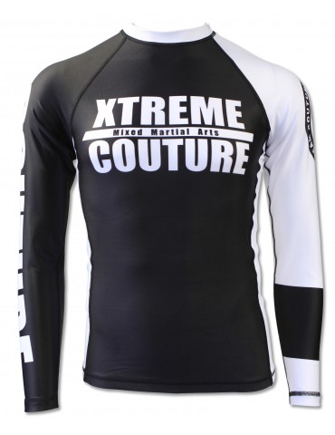 Xtreme Couture Rank LS Rashguard - White