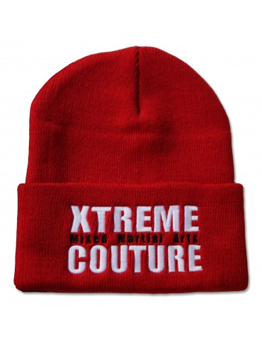 Xtreme Couture Cuff Beanie - Red