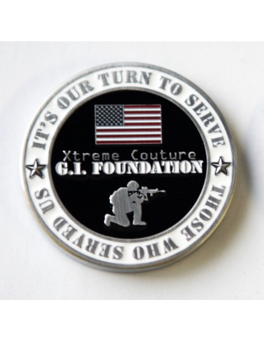 GI Foundation - 2018 Limited Ed. Challenger Coin