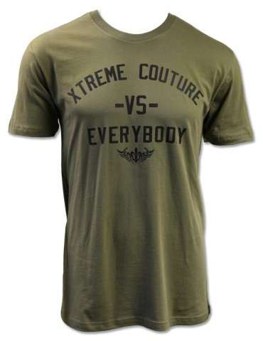 Xtreme Couture VS Everybody SS Tee - Mil Green