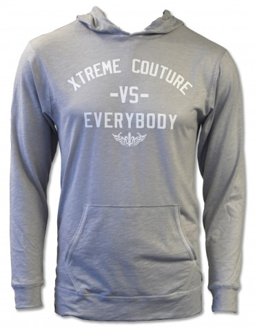 XCMMA vs Everybody Journey Hoodie - Silver