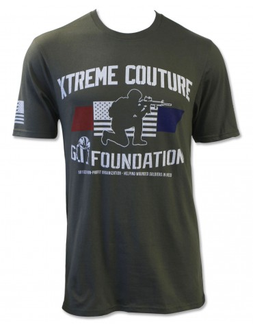 XCGIF SS Shirt Military Green