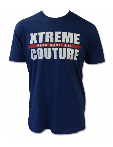 Xtreme Couture Gym Block Logo T-Shirt - Royal Blue