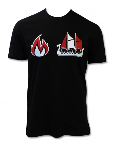 Xtreme Couture Burn The Boats SS Tee - Black