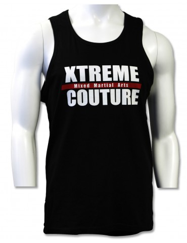 Xtreme Couture Block Logo Mens Tank - Black