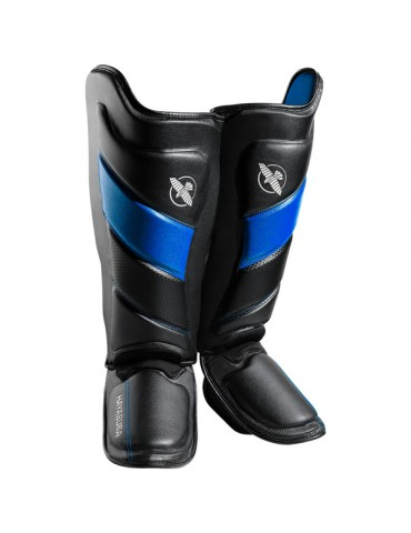 Hayabusa Tokushu Shin Guard - Black/Blue