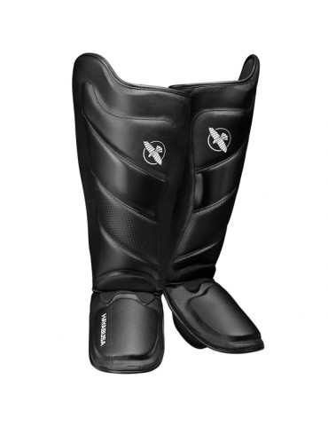 Hayabusa Tokushu Shin Guard - Black