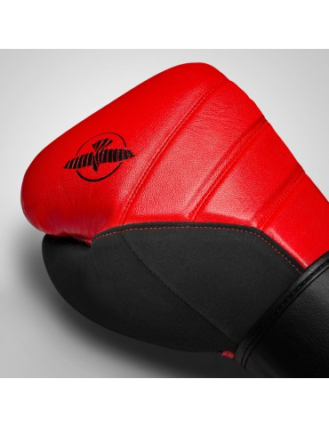 Hayabusa Tokushu T3 Boxing Gloves - Red/Black