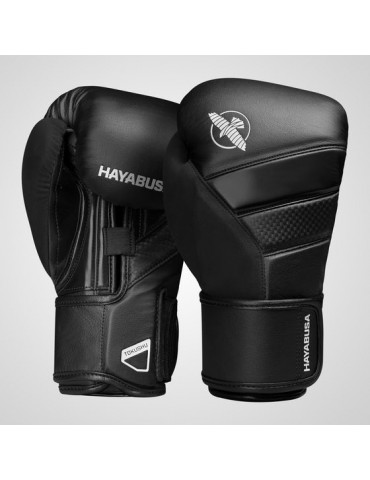 Hayabusa Tokushu T3 Boxing Gloves - Black