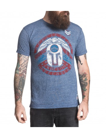 Affliction Grounded - Navy Lava