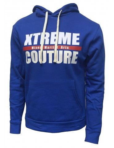Xtreme Couture Blue Logo Hoodie
