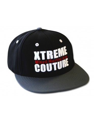Xtreme Couture Snapback Hat - Black/Charcoal
