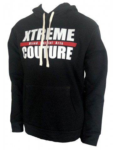 Xtreme Couture Black Logo Hoodie