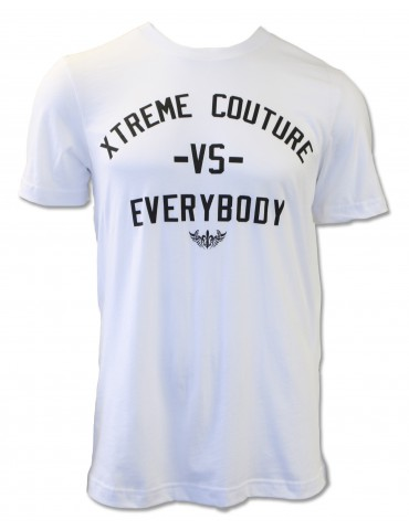 Xtreme Couture VS Everybody SS Tee - White