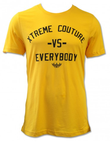 Xtreme Couture VS Everybody SS Tee - Gold