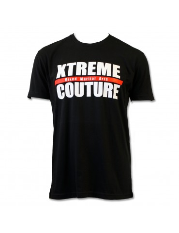 Xtreme Couture Gym Block Logo T-Shirt - Black